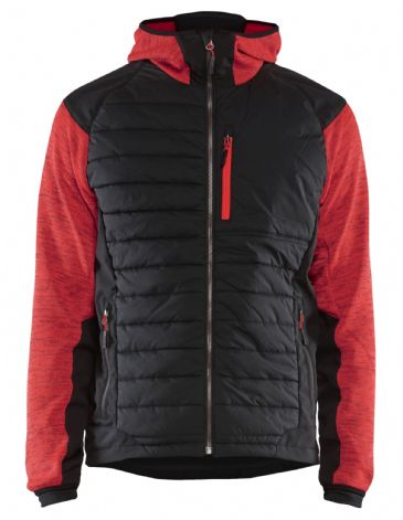 Blaklader 5930 Padded Hybrid Jacket (Red / Black)